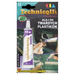 TECHNICQLL Klej do twardych plastików 20ml R-327
