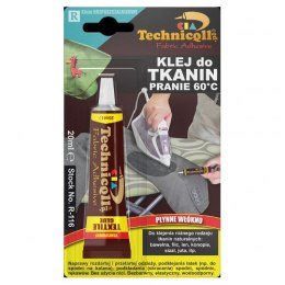 TECHNICQLL Klej do tkanin 20ml R-116